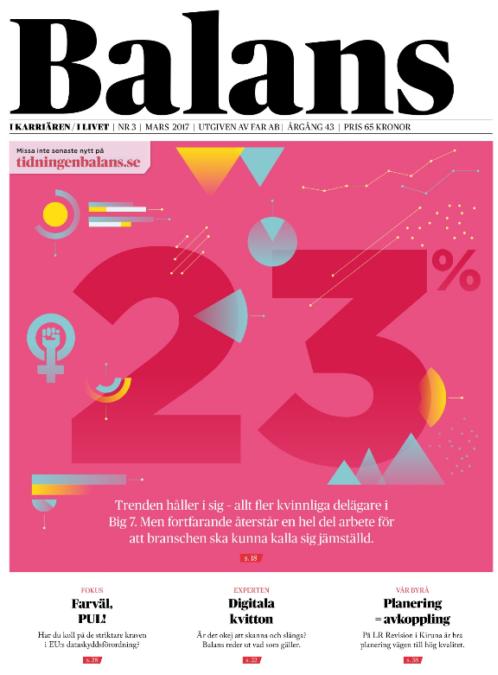 Idag skriver även Tidningen Balans om 3:12 Modellen